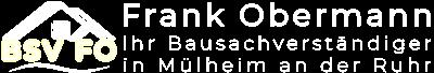 Bausachverständiger Frank Obermann